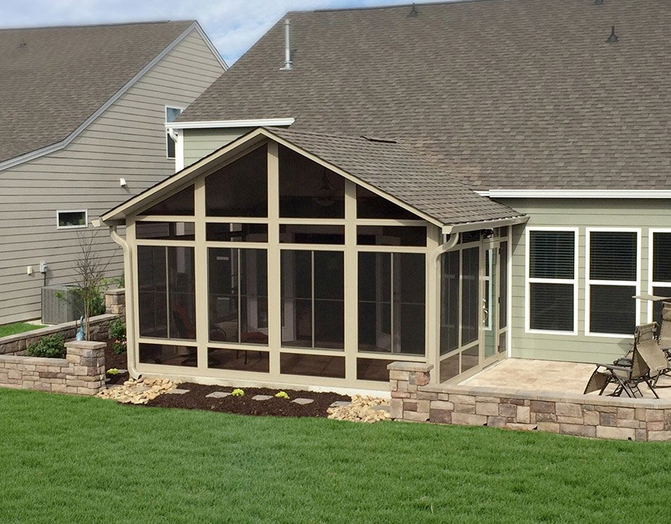 Walls only photo gallery for Do it yourself sunrooms