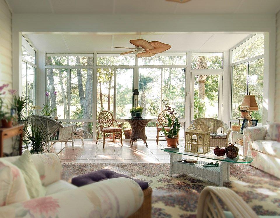 California Sunrooms Split Level Sunroom Design