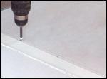 Standing roof seam w/ aluminum cleat