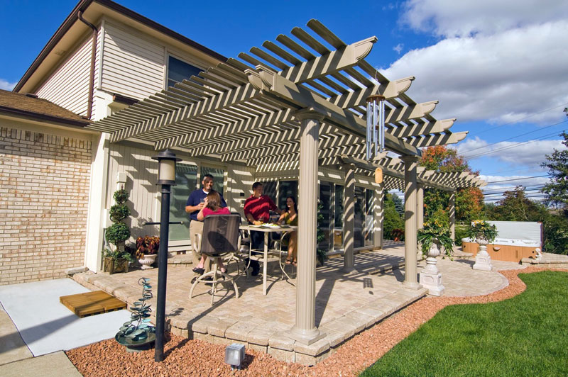 Pergola Photo Gallery – Arbor Patio Cover Plans