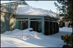 A TEMO Sunroom on a BEAUTIFUL winter day!