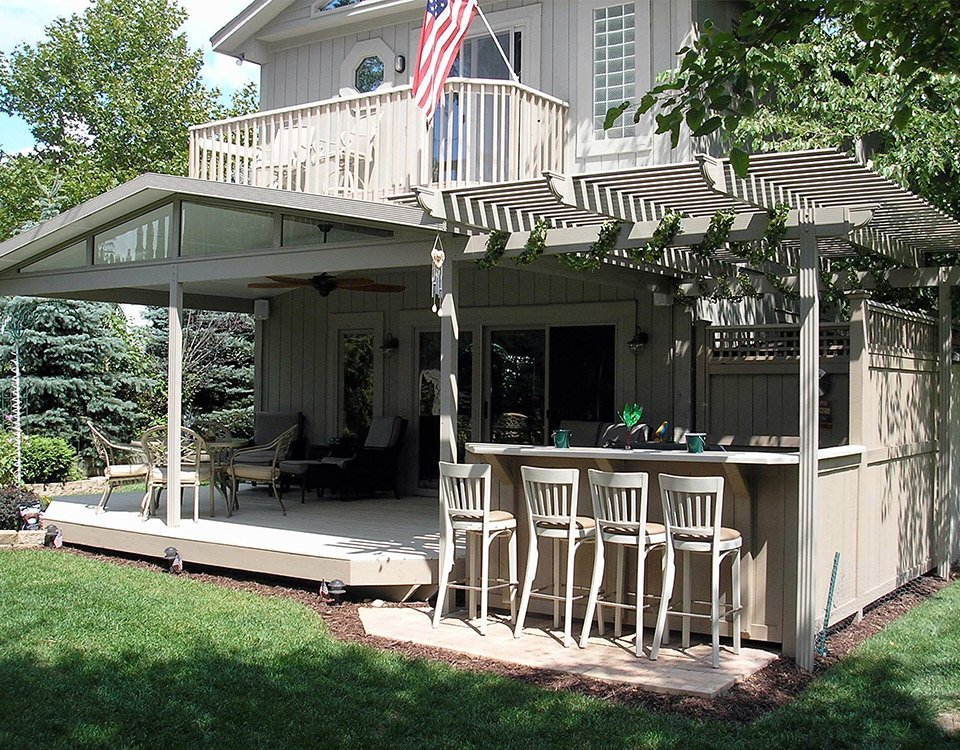 Patio Cover Kits Solid Roof Patio Covers