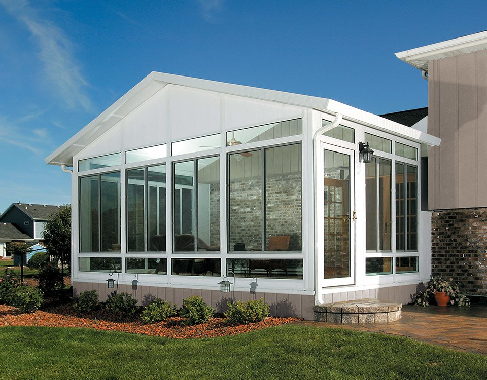 Cathedral photo gallery for Do it yourself sunrooms
