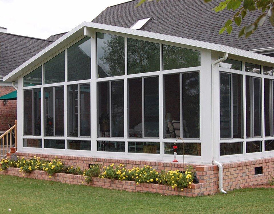 Solarium Sunrooms All Glass Roof Sunroom